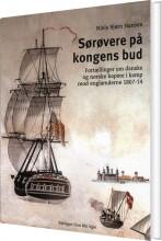 sørøvere på kongens bud - bog