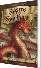 søstre på de syv have (3). den røde slange - bog