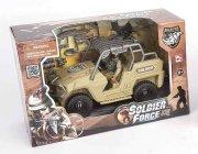 soldier force legetøj - ørken jeep - Køretøjer Og Fly