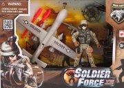 soldier force legetøj - rapid action drone - Køretøjer Og Fly