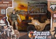 soldier force legetøj - rapid action quad - Køretøjer Og Fly