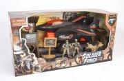 soldier force legetøj - six darts fighter jet - Køretøjer Og Fly