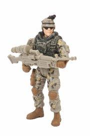 soldier force legetøj - ørkensoldat med riffel - Figurer