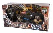 soldier force legetøj - heliblaster actionsæt - Køretøjer Og Fly
