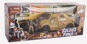 soldier force legetøj - viii sand cougar x transporter - Køretøjer Og Fly