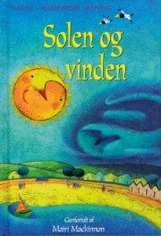 solen og vinden - bog