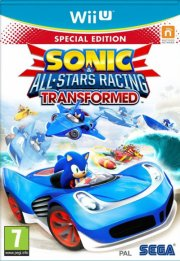 sonic all-star racing: transformed special edition - wii u