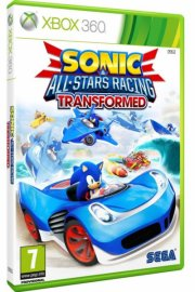 sonic and sega all-stars racing transformed - xbox 360