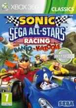 sonic & sega all-stars racing w. banjo & kazooie (classics) - xbox 360