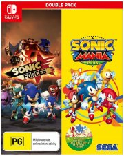 sonic mania plus and sonic forces double pack - Nintendo Switch