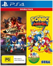 sonic mania plus and sonic forces double pack - PS4