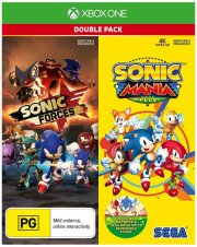 sonic mania plus and sonic forces double pack - xbox one