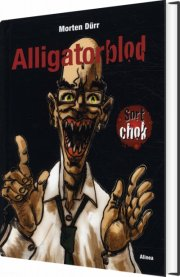 sort chok, alligatorblod - bog