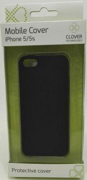 iphone 5/5s cover - sort - clover - Mobil Og Tilbehør