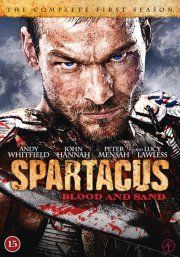spartacus - blood and sand - sæson 1 - DVD