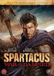 spartacus - war of the damned - sæson 3 - DVD