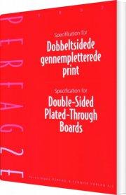 specifikation for dobbeltsidede gennempletterede print - bog