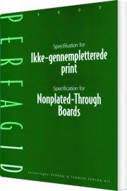 specifikation for ikke-gennempletterede print - bog