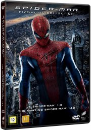 spider-man 1-3 + the amazing spider-man 1+2 - DVD