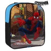 spiderman skoletaske i blå og sort  - Skole