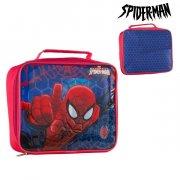 spiderman snack taske - blå rød - Diverse