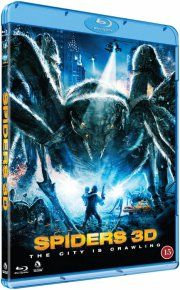 spiders - 3D Blu-Ray