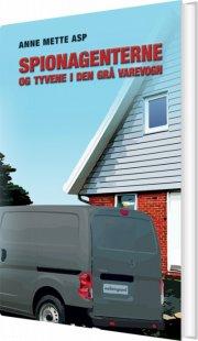 spionagenterne og tyvene i den grå varevogn - bog