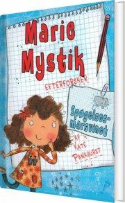 marie mystik 1 - spøgelsesmarsvinet - bog