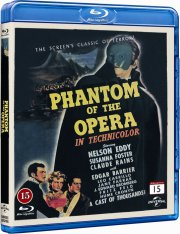 the phantom of the opera - Blu-Ray