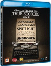 spotlight // the theory of everything // unbroken // concussion // lady in the van - Blu-Ray
