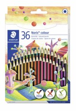 staedtler noris colour farveblyanter - 36 stk. - Kreativitet