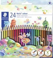 staedtler noris colour trekantede farveblyanter - 24 stk - Kreativitet