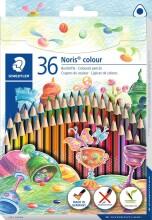 staedtler noris colour trekantede farveblyanter - 36 stk - Kreativitet