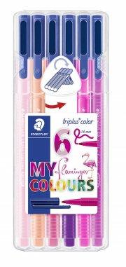 staedtler triplus color flamingo - 6 stk - Kreativitet