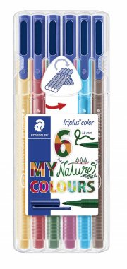 staedtler triplus color nature - 6 stk. - Kreativitet
