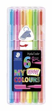 staedtler triplus color neon - 6 stk - Kreativitet