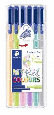 staedtler triplus color pastel - 6 stk - Kreativitet