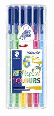 staedtler triplus color tropical - 6 stk - Kreativitet