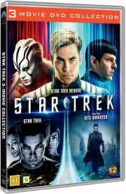 star trek 2009 // star trek into the darkness // star trek beyond - DVD