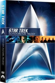 star trek 1-3 - movie trilogy - DVD