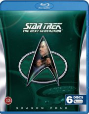 star trek - the next generation - sæson 4 - Blu-Ray