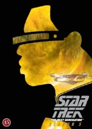 star trek: the next generation - sæson 5  - DVD