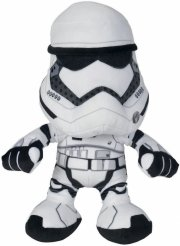 star wars the force awakens - stormtrooper i plys - 25 cm - Bamser
