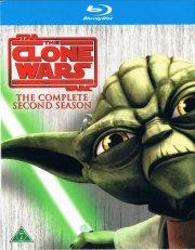 star wars - clone wars - sæson 2 - Blu-Ray