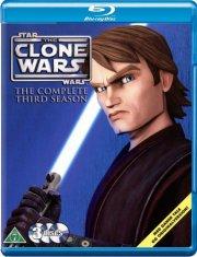 star wars - clone wars - sæson 3 - Blu-Ray