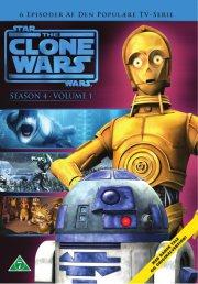 star wars - clone wars - sæson 4 - volume 1 - DVD