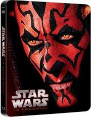 star wars 1 the phantom menace / den usynlige fjende - limited steelbook edition - Blu-Ray