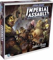 star wars: imperial assault - jabba's realm - brætspil - Brætspil