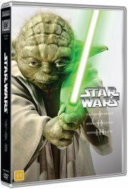 star wars dvd box - de nye film - episode 1, 2, 3 - DVD