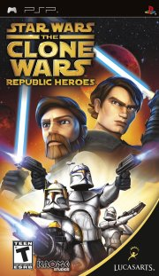 star wars the clone wars: republic heroes - psp